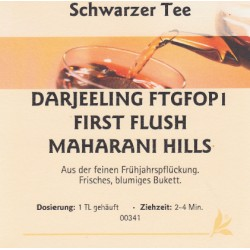 Darjeeling FTGOP1 First Flush Longview
