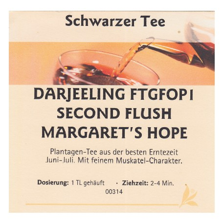 Darjeeling FTG FOP Second Flush Margarets Hope