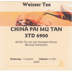 China Pai Mu Tan STD 6900